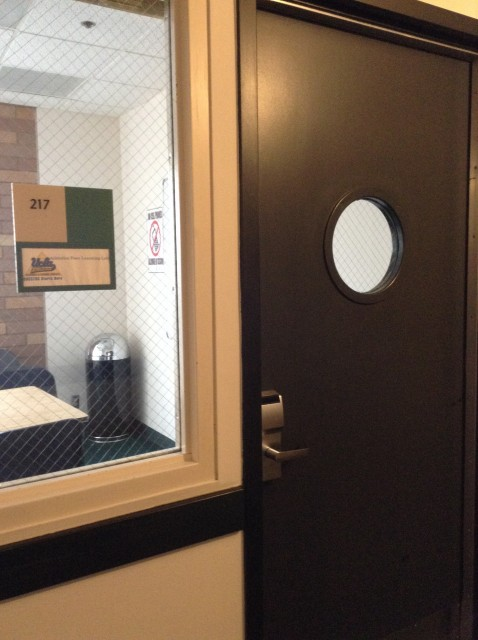Room 217 door