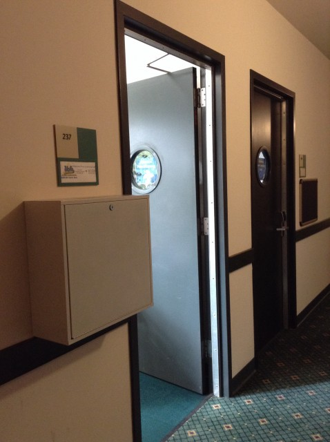 Room 237 door