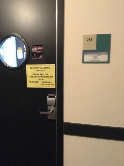 Room 235 door