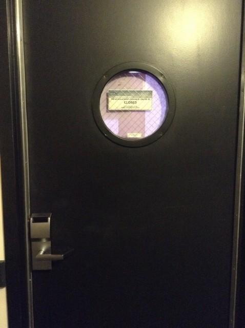 Room 223 door