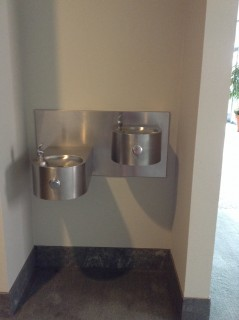 Water fountain by Grand Salon 306E