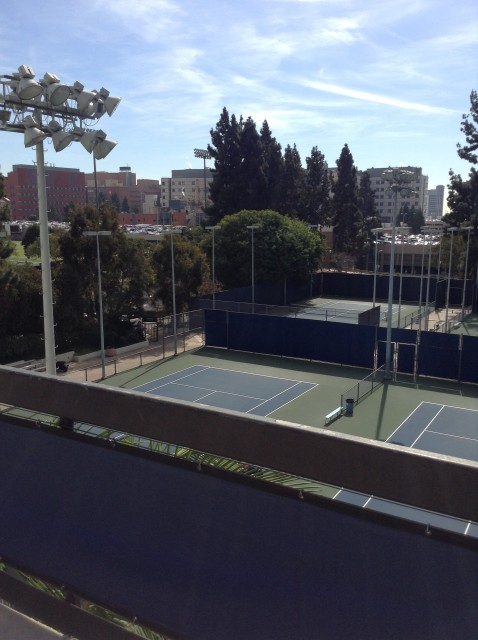 View of courts