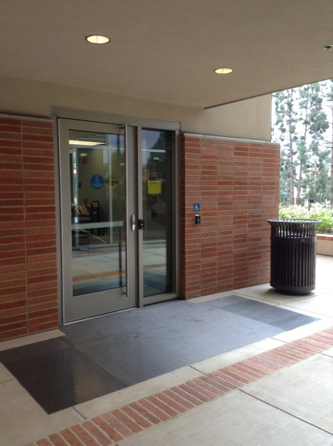 Entrance to study lounge