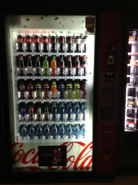 Second drink machine