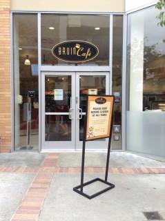 Entrance to Bruin Cafe