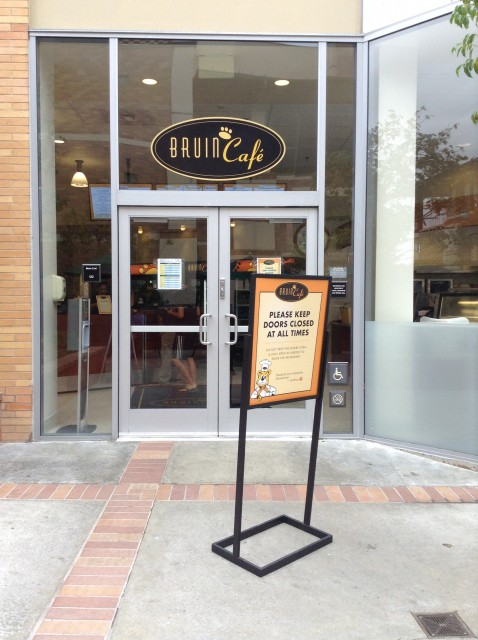 Entrance to Bruin Cafe
