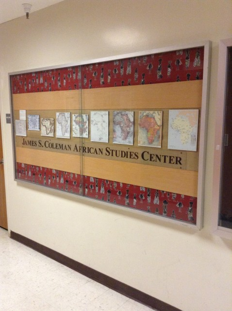 African Studies Poster