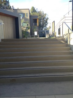 1 Up stairs from Hitch Walkway