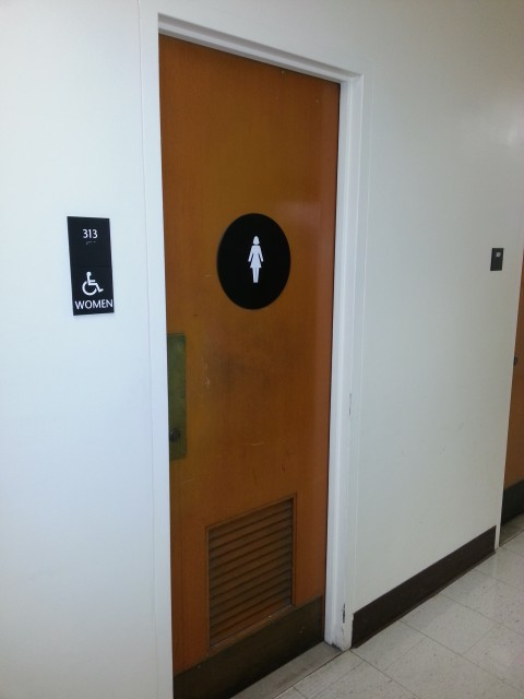 campuses ucla womens bathroom door - Womens Bathroom