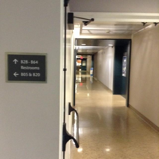 Go down this hallway