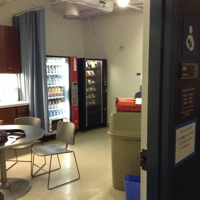Vending machines!