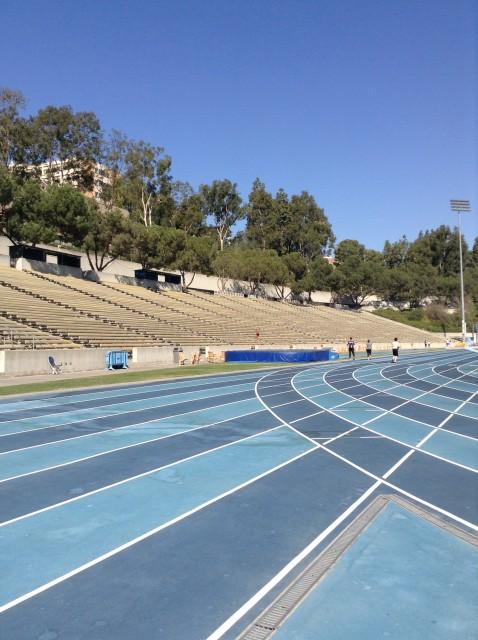 Drake stadium track