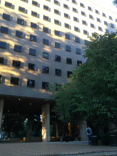 Ralph J. Bunche Hall at UCLA — Studious