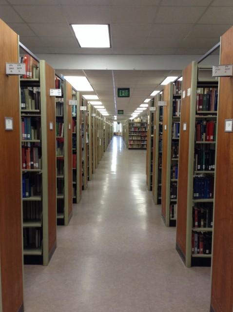 Main Hallway Between Books