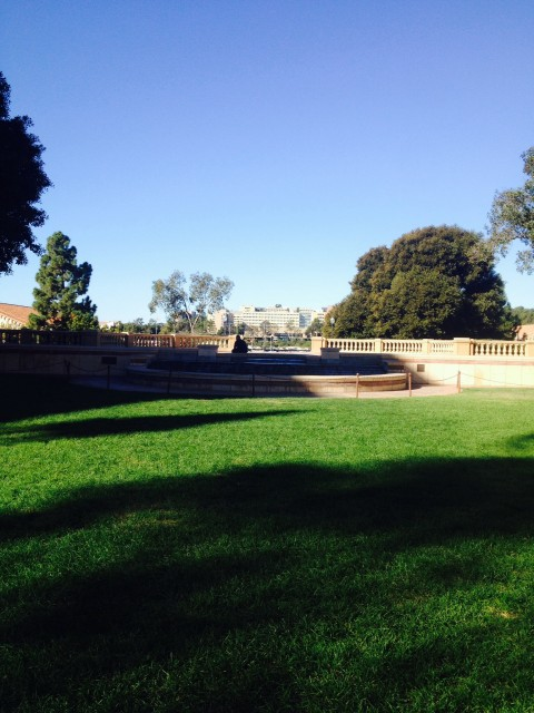 Fountain Looking Towards Janss Steps