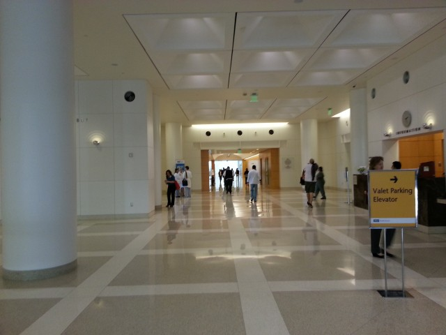 Ground floor lobby