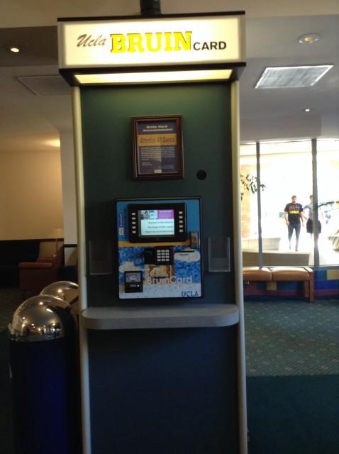 Bruin card ATM
