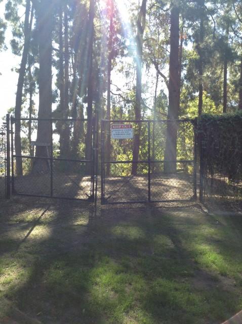 Challenge course entrance