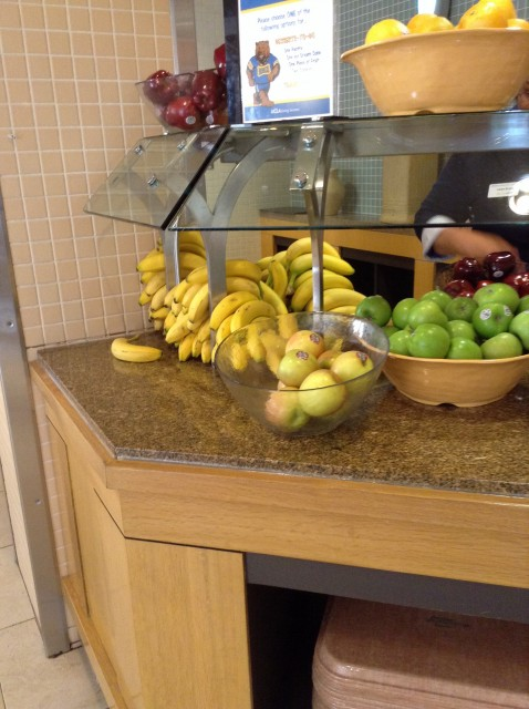 Fruit, be sure to only take one!