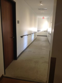 Go down this hallway