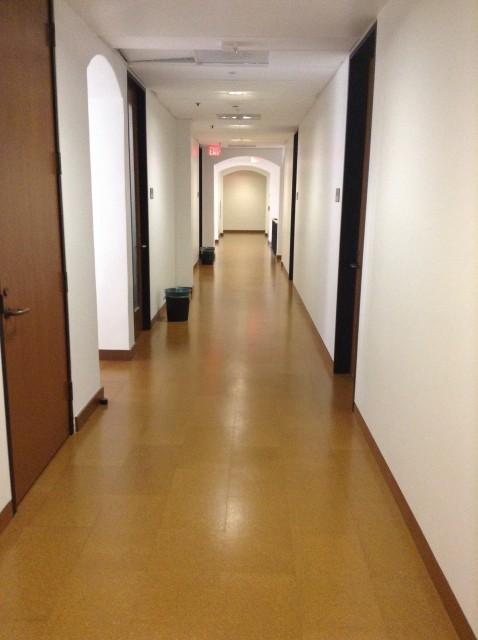 Down this hallway