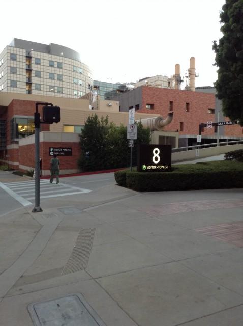 Entrance on Westwood Blvd