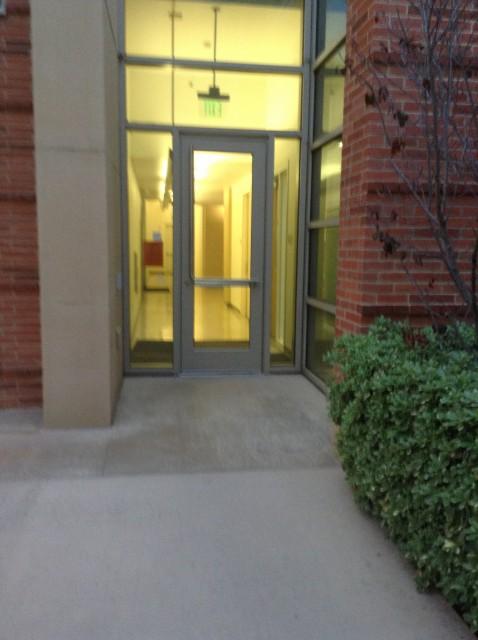 Alternate entrance
