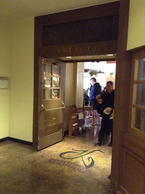 Kerckhoff Coffee House doorway