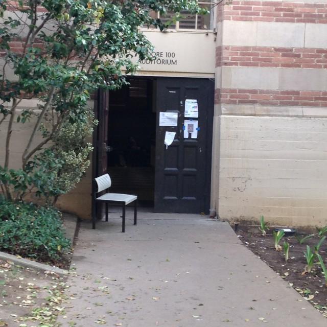 100 outside entrance