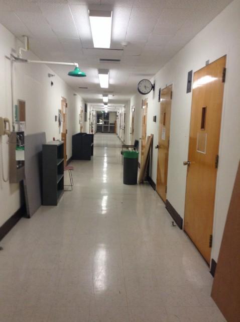 Grad Lab Hallway