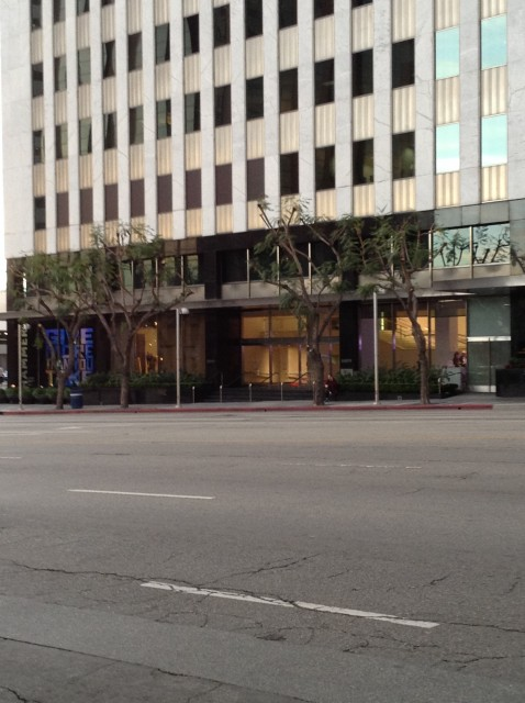 Front, on Wilshire Blvd 2