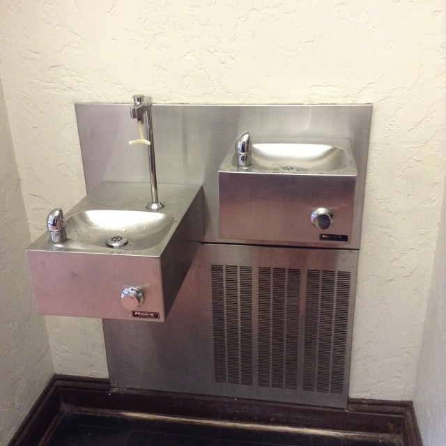 Drinking Fountain and Refill Station