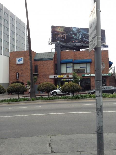 Side, on Westwood Blvd