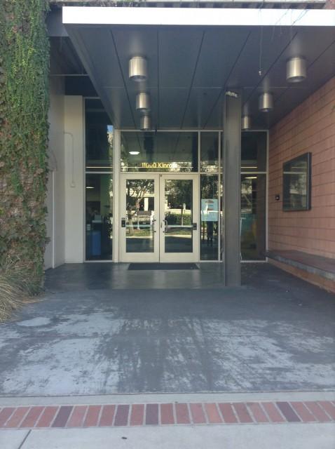 Kinross rec entrance