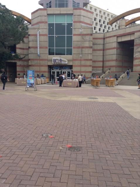 Bruin Plaza facing Ackerman