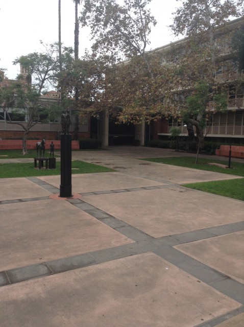 Rolfe Hall Courtyard