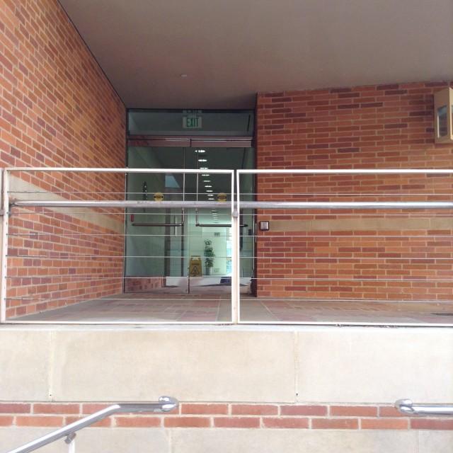 Alternate entrance to 3rd floor