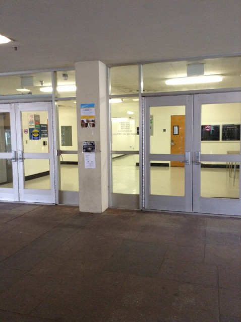 Main 5th floor entrance