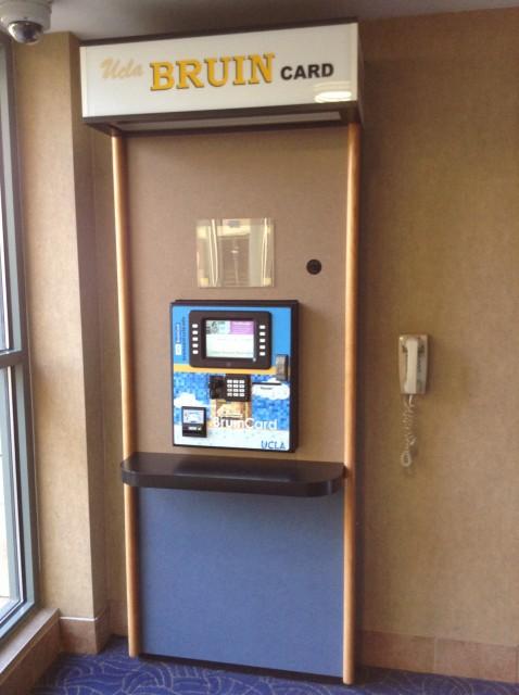 Bruincard Machine