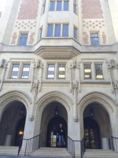 Kerckhoff main entrance