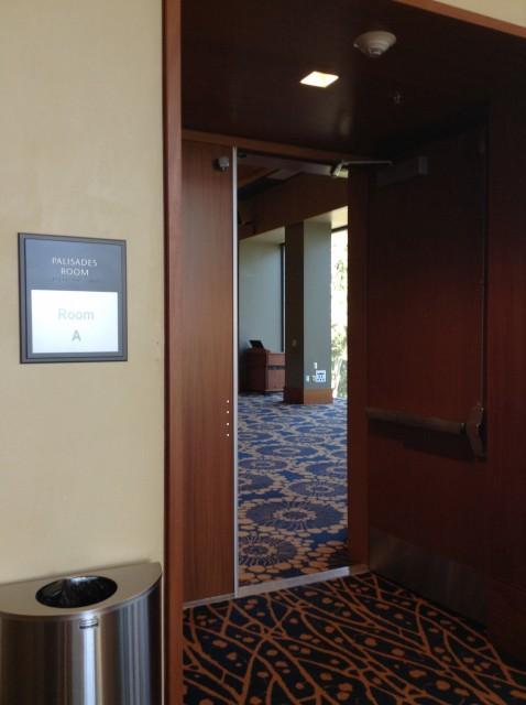 Room A entrance