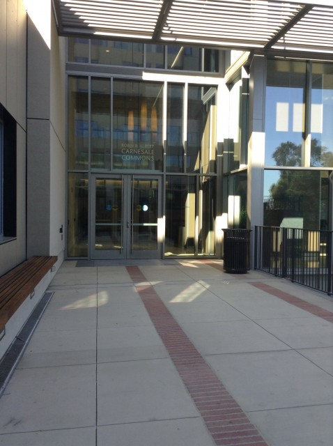Carnesel Commons Entrance
