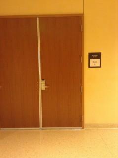 Room C entrance