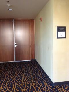 Room D entrance