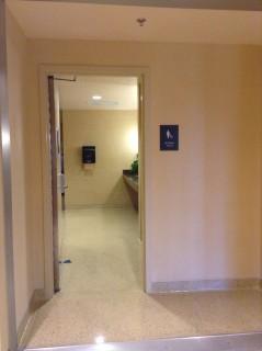 Women's Restroom entrance