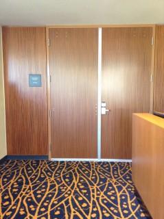 Room E entrance