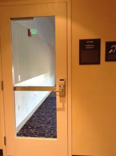 Room B entrance