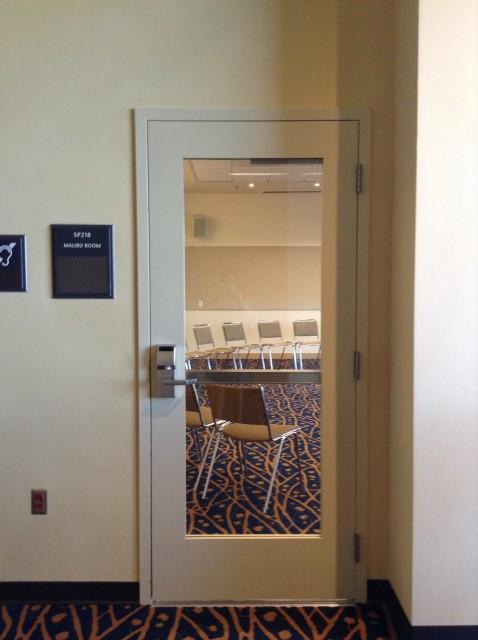 Malibu Room entrance