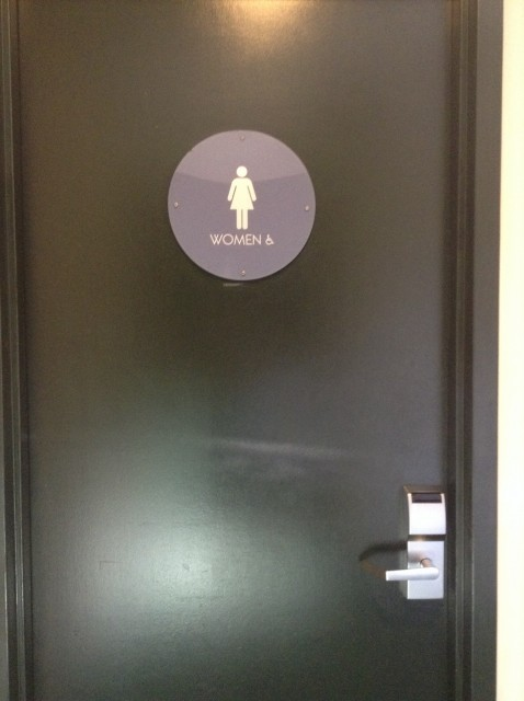 Women's Restroom entrance