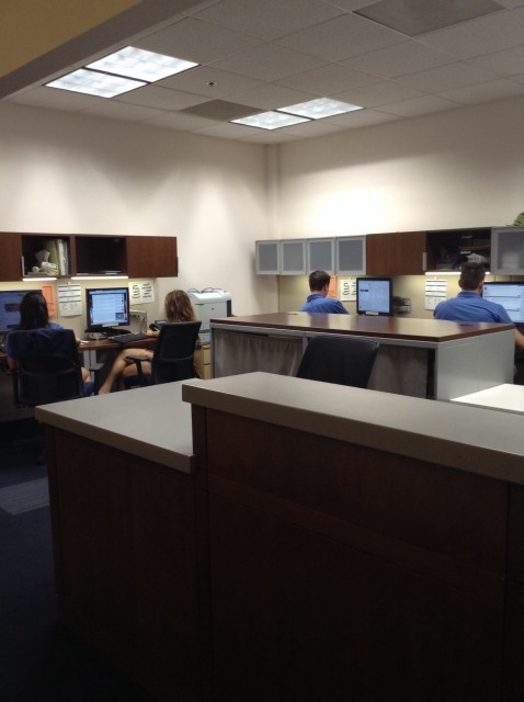 New student and transitional services help desk